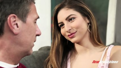 Hard Dick For Nuaghty Stepdaughter - scene 1