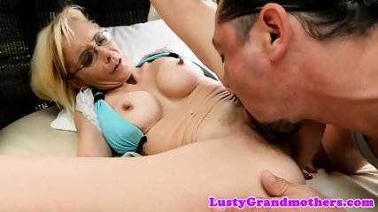 Busty gilf anally banged by fat cock