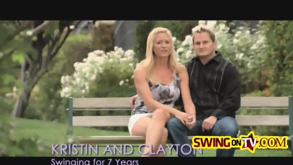 New Playboy swingers go full on interracial