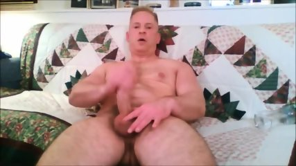 Beefy Daddy Jerking- Watch Part2 On