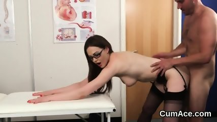Wicked idol gets cum load on her face sucking all the jizz