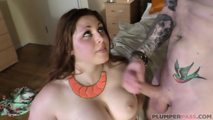 Pleasure For Horny Fattie - scene 12