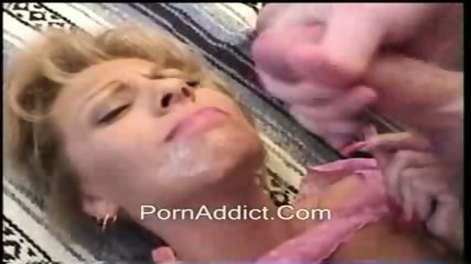 MILF Takes a Giant Facial - scene 2