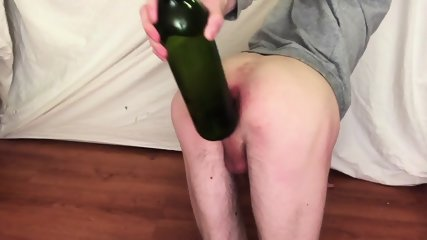 Bottle fist and gaping anal