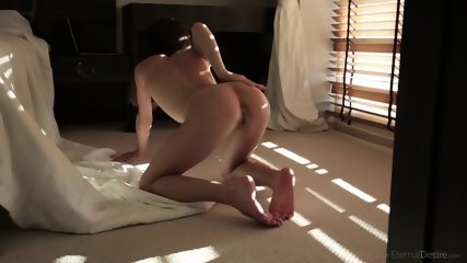 Sensual Babe Takes Off Clothes - scene 10