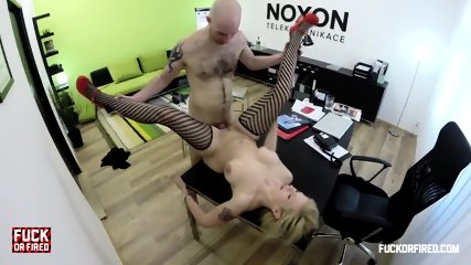 Busty Babe Creampied By Boss