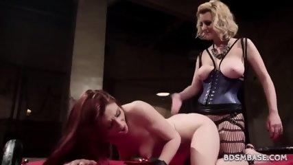 Cherry Torn Strapon Fucks Violet Monroe - scene 9