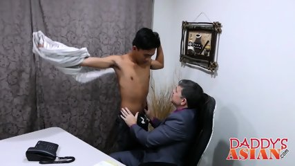 Office twink gets an 8 inch promotion from his horny boss