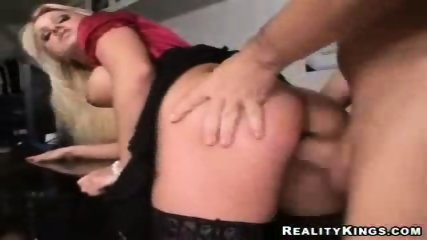Big tit office babe analised by her boss - scene 10