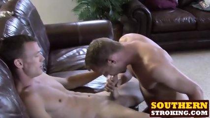 Raunchy gay boys Preston and Bob have hot lovemaking session