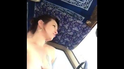 Car Flashing Shannon - scene 8