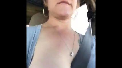 Car Flashing Shannon - scene 9