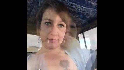 Car Flashing Shannon - scene 1