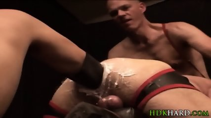 Ass Fisted In Threesome