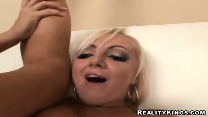 Lacey, perfect blondie gets her ass and pussy licked