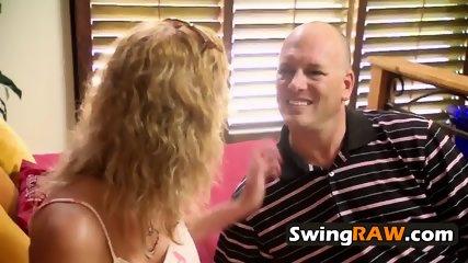 Swinger chicks in lingerie are too damn hot
