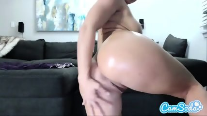 Busty Whore Is Going Solo For CamSoda - scene 1