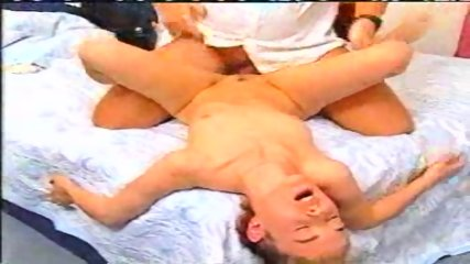 Blond Girl fucking with ugly Guy - scene 12