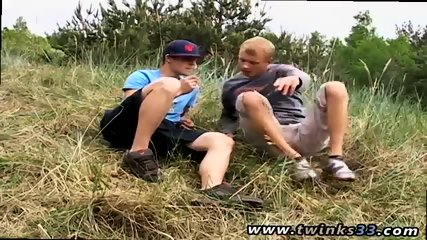 Young homeless gay twink sucks cock Roma and Archi Outdoor Smoke Sex!