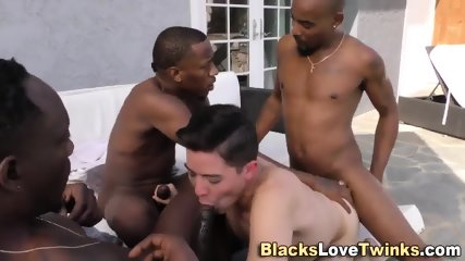 Interracial Group Twink