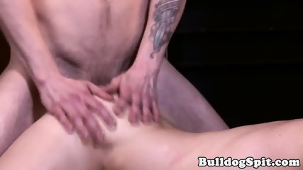 British punk slamming studs tight ass