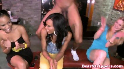 OMG my gf strokes strippers dick