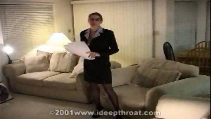Heather - Perfect BJ, Office, Messy! - scene 1
