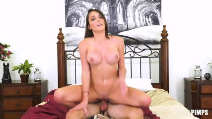 Busty Girl Licked And Pounded - scene 9