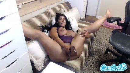 Raven Hart Sucks And Fucks With A Dildo