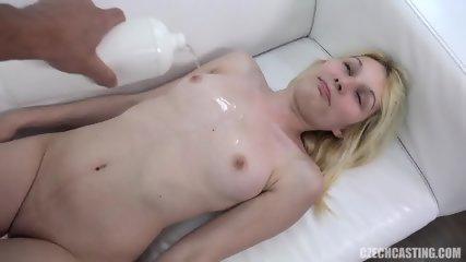 Shy Babe Enjoys Sex At Casting - scene 6