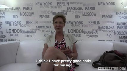 Mature Amateur Banged At Casting - scene 5