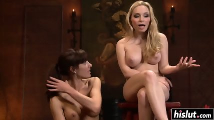 Horny sluts enjoy some kinky pleasures - scene 12