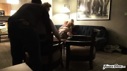 Two Couples On Sofa - scene 2