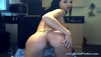 Skinny girl with a hot ass and nice body