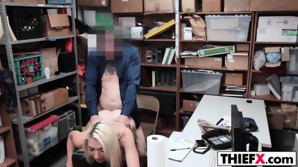 Nubile Blonde Gal Stealer Gets Fucked