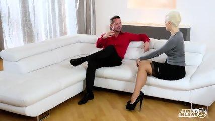 Stepmom Squirts In Hot Sex With Stepdaughter's Boyfriend - scene 2