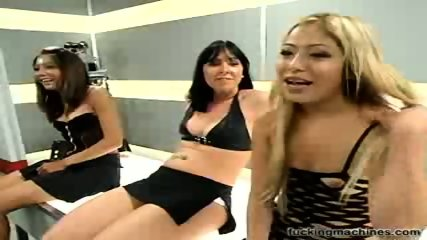 Three sluts and fucking machines 1 - scene 10