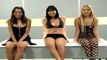 Three sluts and fucking machines 1 - scene 1