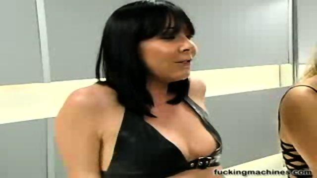 Three sluts and fucking machines 1