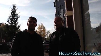 Busty dutch hooker sucks