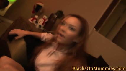 BBC riding milf gets pussy slammed deeply