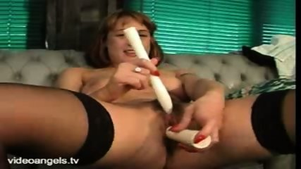 UK Babe Dildos Both Holes - scene 12