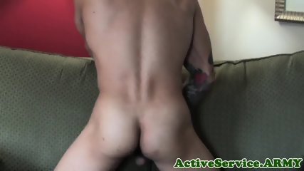 Muscular marine duo love assfucking