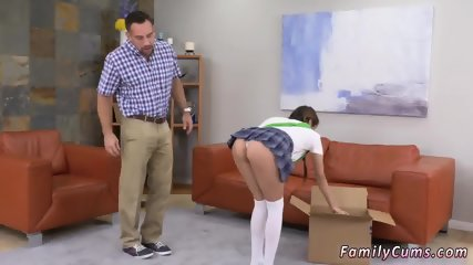 College school girl and amateur cum in mouth Forgetful Father Forgiveness - scene 3