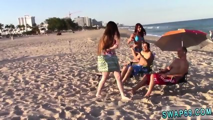 Anal teen sensation and leaked sex tape Beach Bait And Switch - scene 5