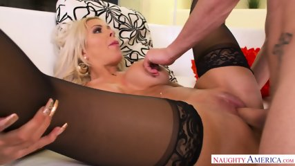 Horny Mom Seduces Young Guy - scene 7
