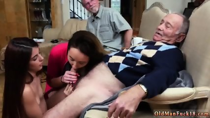 Brunette dominates old guy and german orgy Maximas Errectis