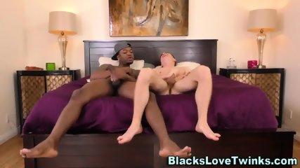 Twink Gets Black Dick