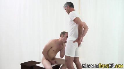 Mormon ass cum drizzled