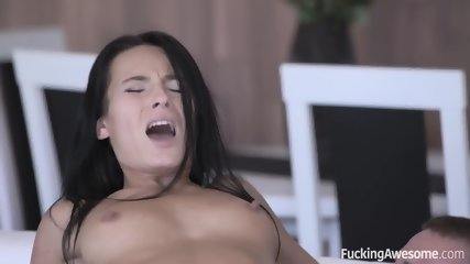 Dose Of Satisfaction For Hot Brunette - scene 7